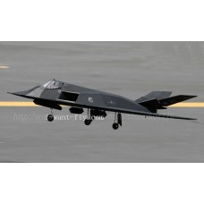 8 Channel F-117 EDF Jet RC Plane with 70mm EDF