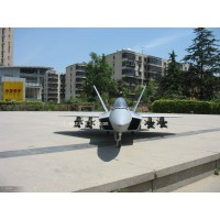 F-22 Raptor double 70 EDF jet with vectoring nozzles RC Airplane F22 PNP version