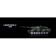 1/16 GERMAN LEOPARD 2A6 RC Advanced Tank Upgraded metal tracks and metal wheels