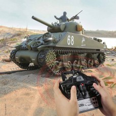 1/16 U.S M4A3 SHERMAN Battle tank 6.0 Edition with Infrared battle system RC tank