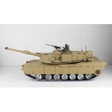 1/16 Advanced U.S.M1A2 ABRAMS MAIN RC Tank Upgraded for metal tracks and metal wheels