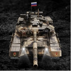 1/16 RUSSIAN T-90 RC Tank Upgraded with metal track