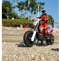 1/5 scale 2.4G Brushless Electric RC motorcycle with gyroscope RTR