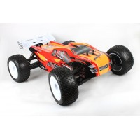 1/8 scale 4wd 2.4G Brushless Electric Truck red RTR