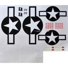 F4U spare part for decal