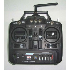 12 Channel Radio Transmitter with Receiver