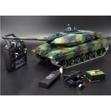 1/16 GERMAN LEOPARD 2A6 RC Tank Upgraded edition