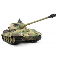 1/16 German King Tiger Henschel Remote Control Battle Tank 6.0 New Edition with Infrared battle system