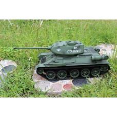 1/16 RUSSIAN T-34 RC 2.4G HL Tank with smoke and realistic engine sound