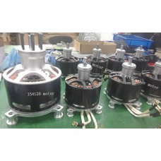 50 kw 154120 Brushless Motor, super brushless motor suitable for electric aircraft