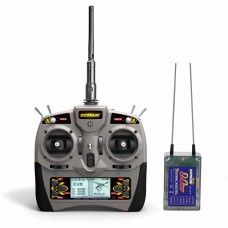 6 channel Multifunction Radio Transmitter with Receiver and LCD