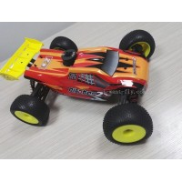 1/8 scale red nitro rc buggy RTR 4wd with 21 level nitro engine