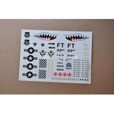 A-10 spare part for decal