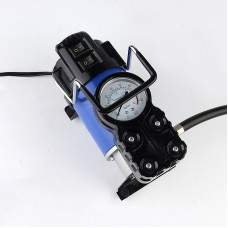 12V Electric air compressor, 100PSI Car Tire Fast Inflator Pump with Headlight