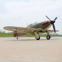 Hawker Hurricane propeller RC Plane with retract landing gear for PNP Edition