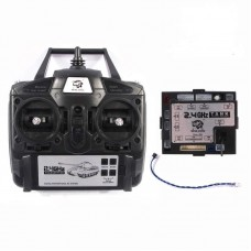 2.4G RC Tank Transmitter with receiver, Suitable for heng long rc tanks