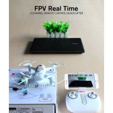 Real-Time FPV Upgraded Pocket drone with hover