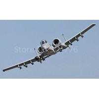 12 Channel A-10 Warthog RC Jet with double 70mm EDF