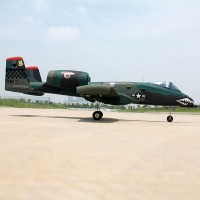 A-10 Warthog Mini RC Jet plane for green PNP edition with retract landing gear