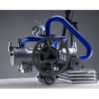 275CC Double Cylinder Horizontally Opposed Water Cooled Aircraft Engine With Electric Start