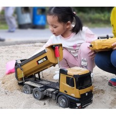 2.4G big size remote control dumper truck engineering vehicle