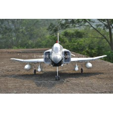 12 Channel F4 Phantom RC jet with twin 70mm EDF and High scale flap system