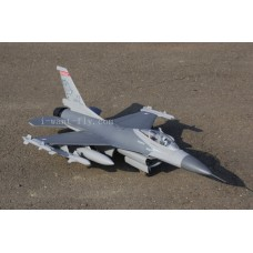 8 Channel F16 EDF Jet with EDF Thrust vectoring nozzles and retract landing gear