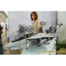 12 Channel F18 Hornet Jolly roger RC Jet with double 70mm EDF and 360 degree Thrust vectoring nozzles