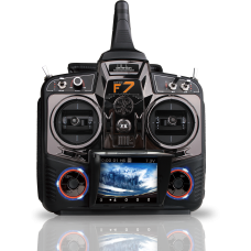 8 Channel DEVO F7 Radio Transmitter with FPV monitor and receiver