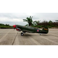 PNP Version rc airplane wingspan 2000mm Big Curtiss P-40 Fighter RC plane