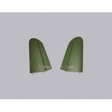 P-40 spare part for outside of main wing set