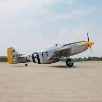 P51D Mustang RC plane with retract landing gear for PNP Edition
