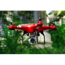 SH5D wifi RC four axis drone with 170 degree wide angle camera and camera platform