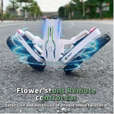 flower stunt rc car extension of double-sided twist arm toys for children