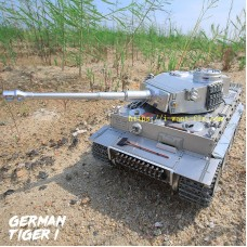 1/16 German tiger metal remote control battle tank